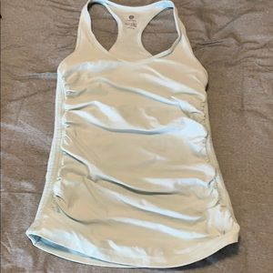 Old Navy Active ruched racerback tank top